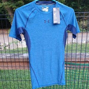 UA heatgear men's compression shirt NWT
